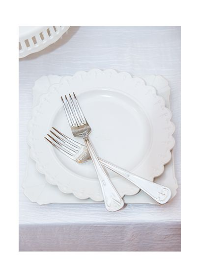 My One and Only Plate and Fork Wedding Cake Set 9861