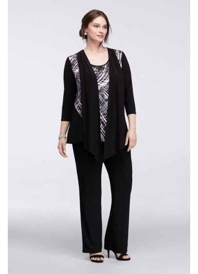 Long Jumpsuit 3/4 Sleeves Mother and Special Guest Dress - RM Richards