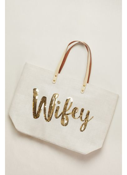 Wifey Tote Bag - Wedding Gifts & Decorations