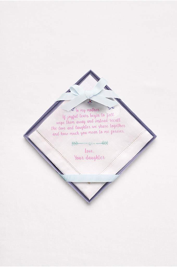 Mother of the Bride Handkerchief -