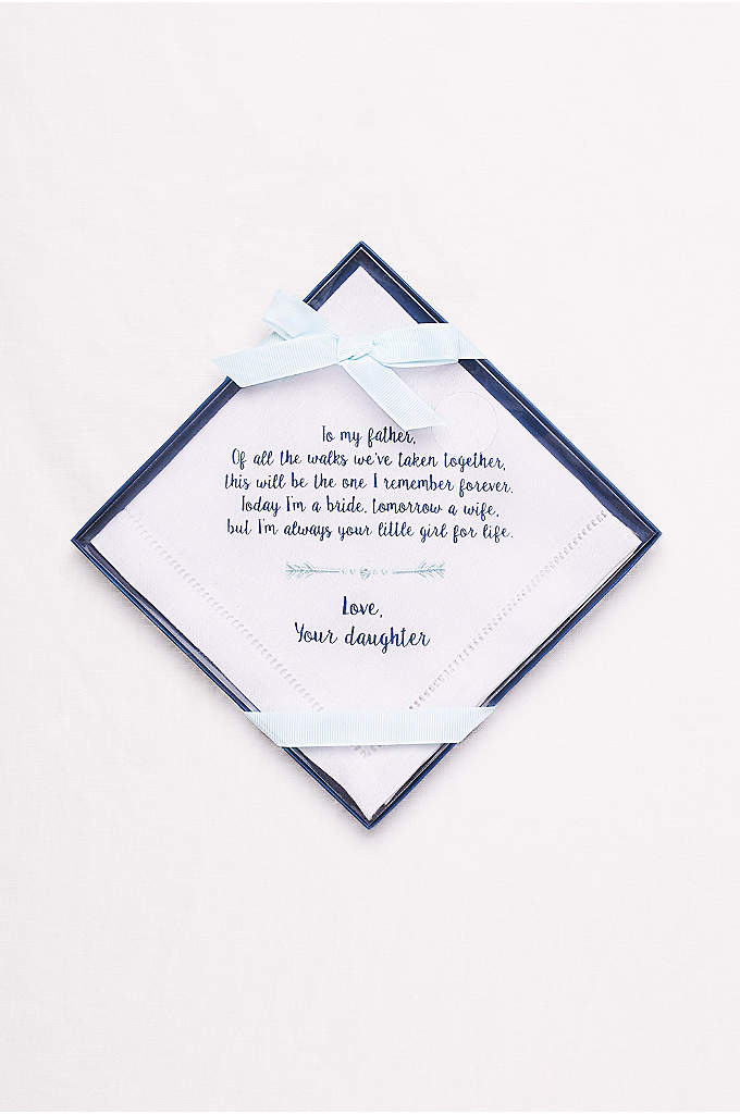 Father of the Bride Handkerchief -