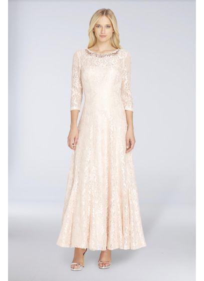Long A-Line Long Sleeves Formal Dresses Dress - Tahari ASL