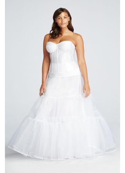 Plus Size Ball Gown Silhouette Slip - Wedding Accessories