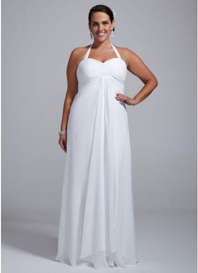 Long A-Line Casual Wedding Dress - DB Studio