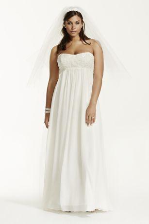 Chiffon and Lace Wedding Dresses