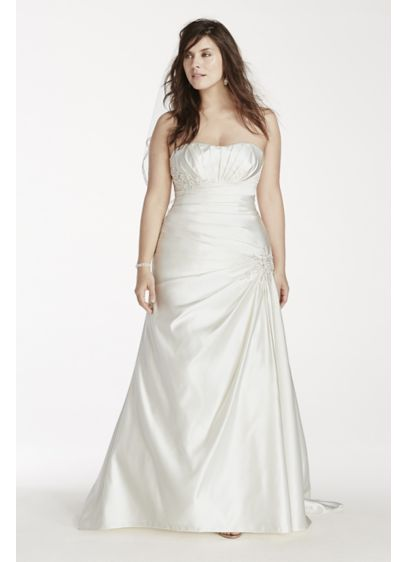 Long 0 Formal Wedding Dress - David's Bridal Collection