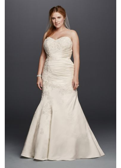 Long 0 Formal Wedding Dress - David's Bridal Collection