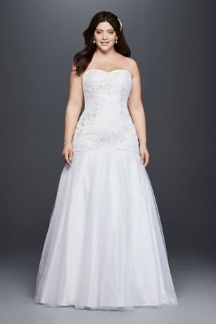 Wedding dresses plus size mermaid prom