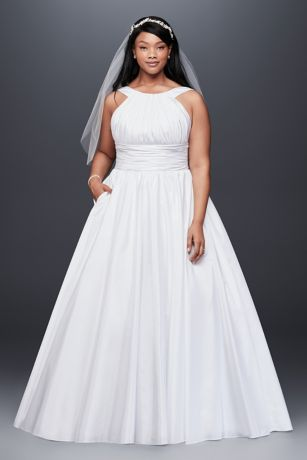 taffeta princess strapless sweetheart neckline wedding dress in southern california