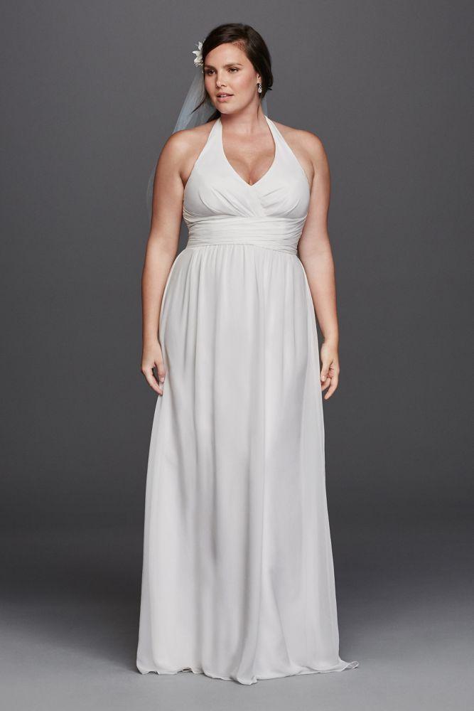 Plus size wedding dresses halter style wedding dresses for Plus size wedding dresses okc