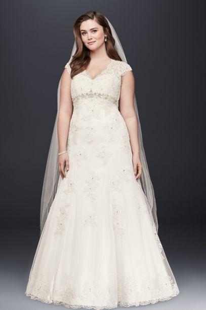 White A-line Wedding Dresses & Gowns | David's Bridal