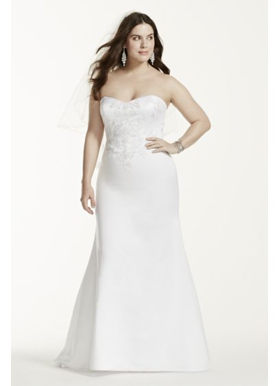 Long Mermaid/ Trumpet Formal Wedding Dress - David's Bridal Collection