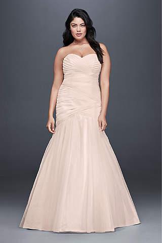 Light Pink & Blush Wedding Dresses | David\'s Bridal