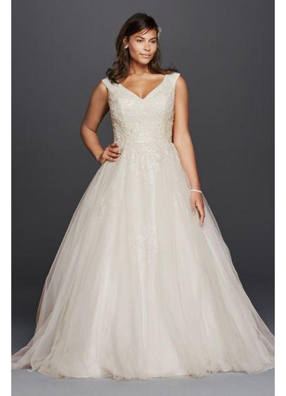Long Ballgown Formal Wedding Dress - Jewel