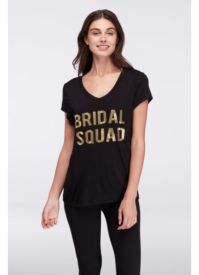 Bridal Squad V-Neck Tee - Wedding Gifts & Decorations