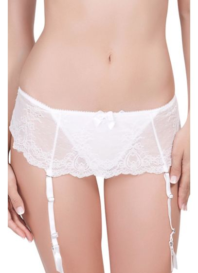 Affinitas Pearl Skirted Thong - Wedding Accessories