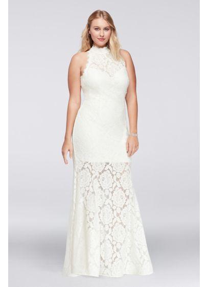 Long Mermaid/ Trumpet Wedding Dress - Betsy and Adam