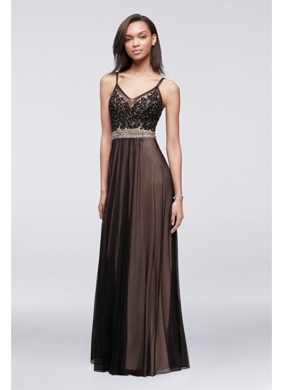 Long A-Line Tank Prom Dress - Betsy and Adam