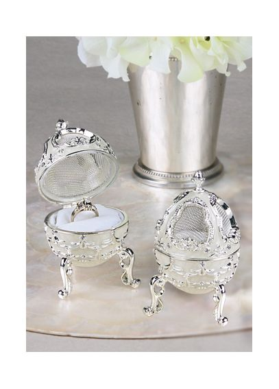 Decorative Egg Ring Box A91013