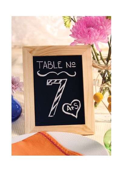 Chalkboard Frame with Easel Back Set of 2 A91220
