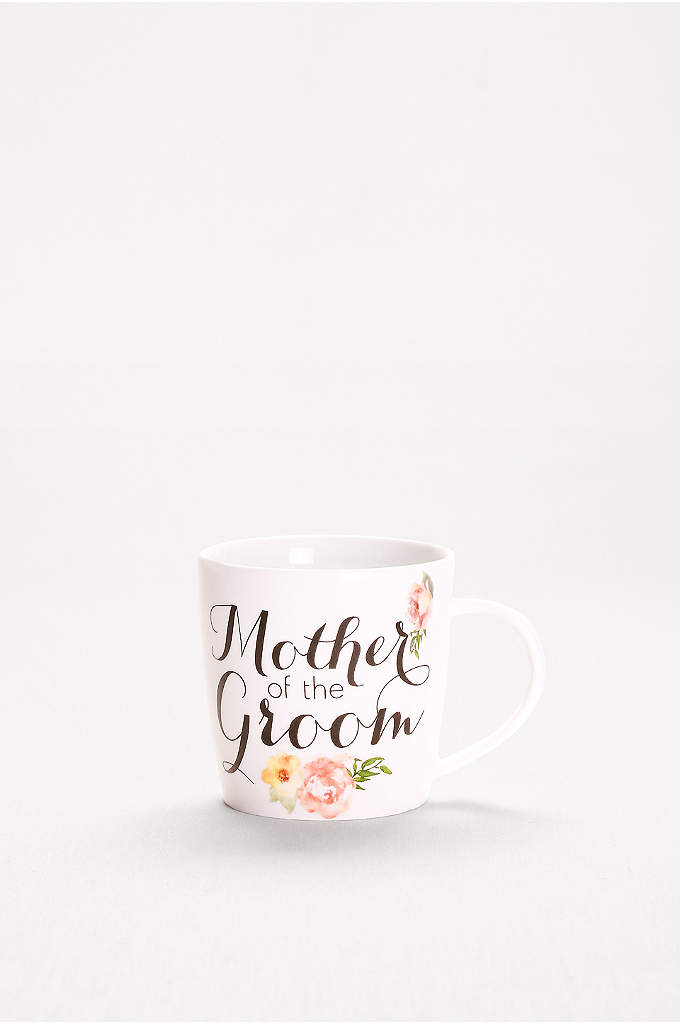 Mother of the Groom Mug - This pretty floral mug is sure to warm