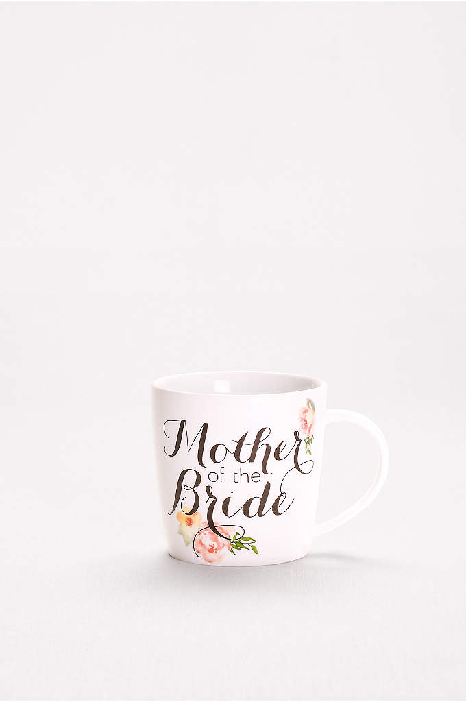 Mother of the Bride Mug - This pretty floral mug is sure to warm