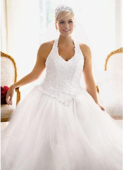 Long Ballgown Halter Dress -