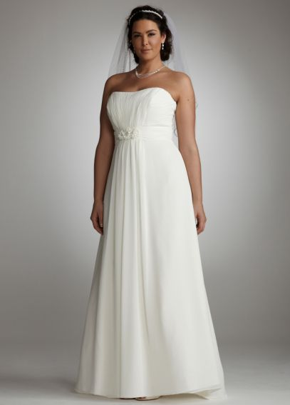 Chiffon Soft Gown with Side Drape  AI13011912
