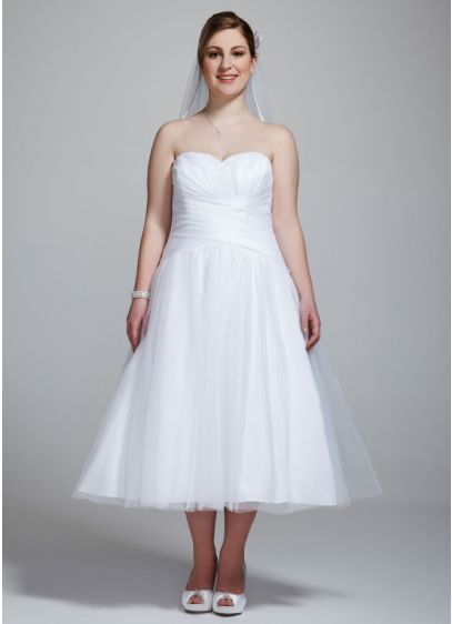 Short A-Line Wedding Dress -