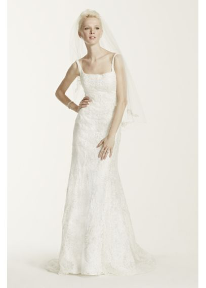 As-Is Tank Lace Wedding Dress with Beading  AI14030138