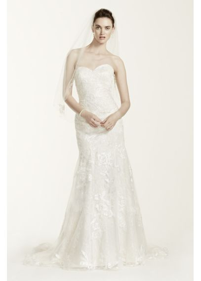 As-Is Tulle Wedding Dress with Beaded Lace AI14030139