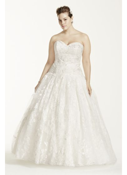 As Is Wedding Dress With All Over Lace
