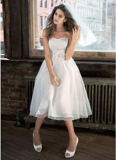 Short Ballgown Wedding Dress -