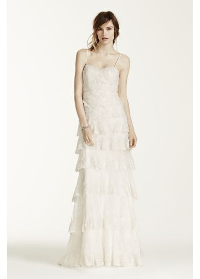 As-Is Melissa Sweet Hand Beaded Wedding Dress AI25080503