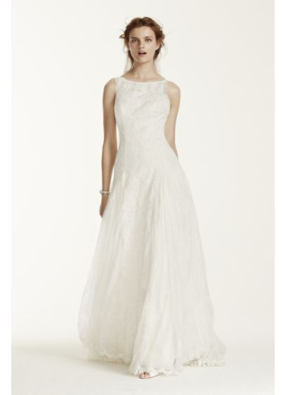 As is lace wedding dress with high neck davids bridal as is lace wedding dress with high neck junglespirit Images