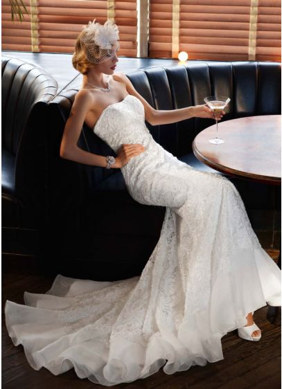 Long Mermaid/ Trumpet Wedding Dress -