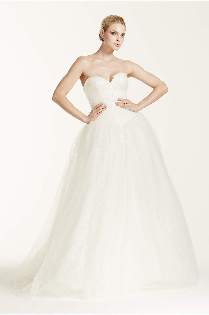 Truly Zac Posen Wedding Dress with Sequin Detail - Zac Posen is a name synonymous with A-listers,