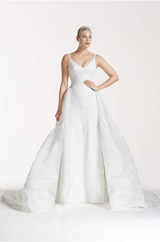 As-Is Tank Bonded Organza and Lace Wedding Dress - You've got impeccable taste and an eye for