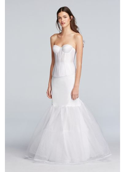 A-Line Silhouette Slip - Wedding Accessories