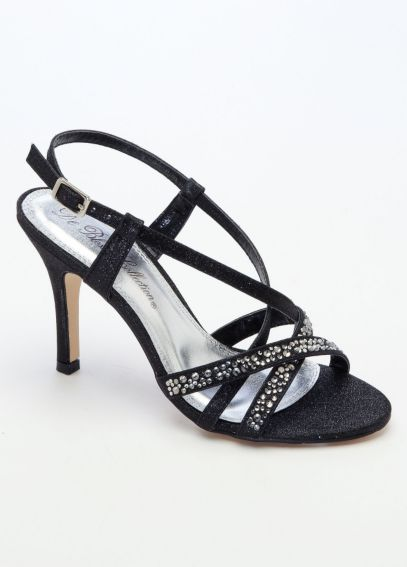 High Heel Strappy Sandal with Crystals ANALIA18