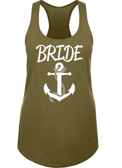 Tank Top Bridal Shower Dress -