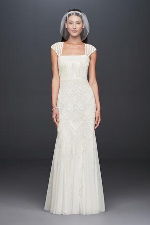 Square Bridesmaid Dress