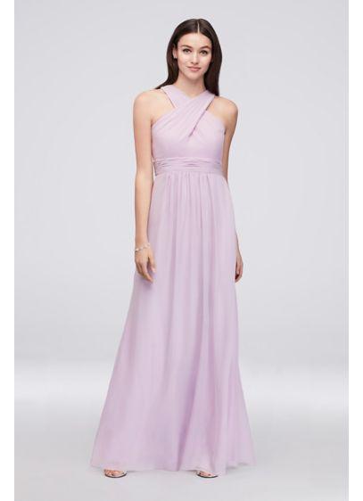 Long Purple Soft & Flowy Reverie Bridesmaid Dress
