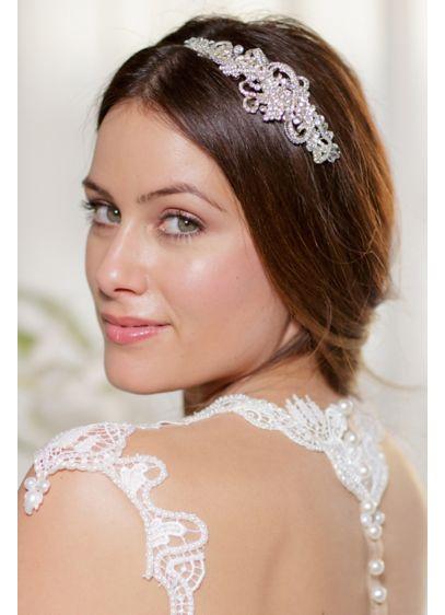 Crystal Filigree Headband - Wedding Accessories