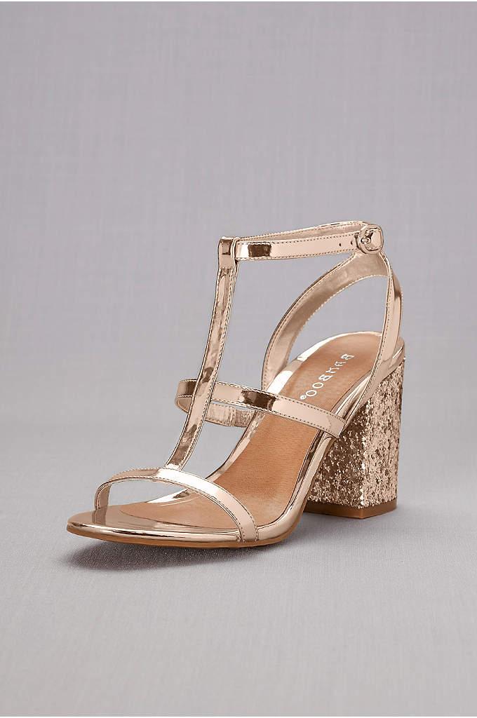 Simple Ankle Strap Sandals David S Bridal