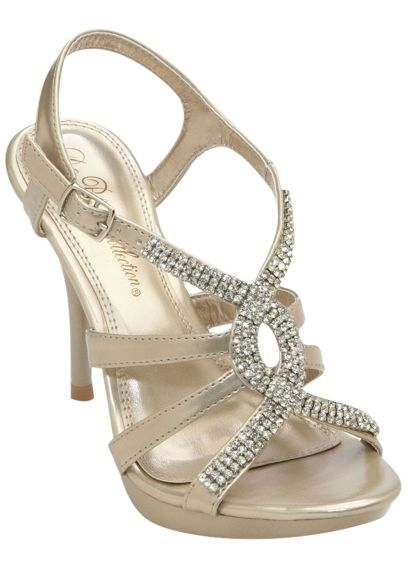 High Heel Sandal with Crystal Twist ASANYO73X