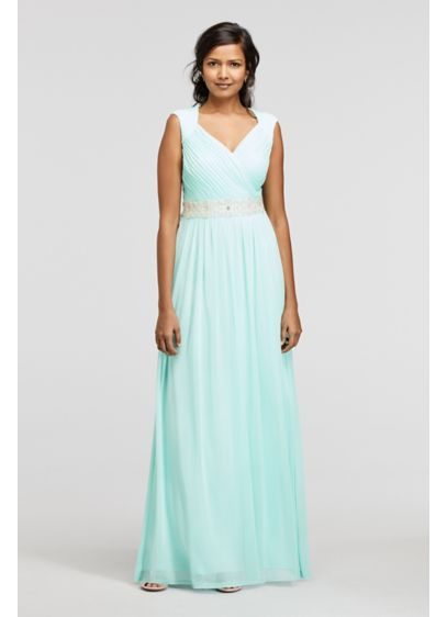 Long A-Line Tank Formal Dresses Dress - Sangria