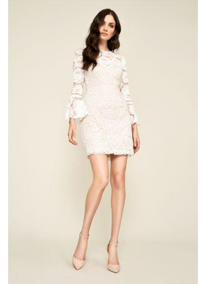 Short Sheath Long Sleeves Dress -