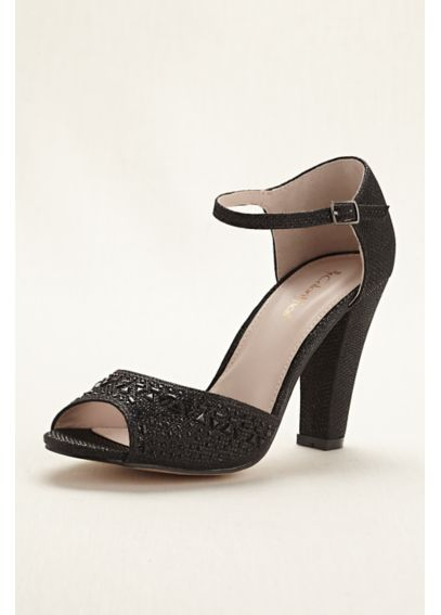 D' Orsay Peep Toe Sandal by Coloriffics Abbey