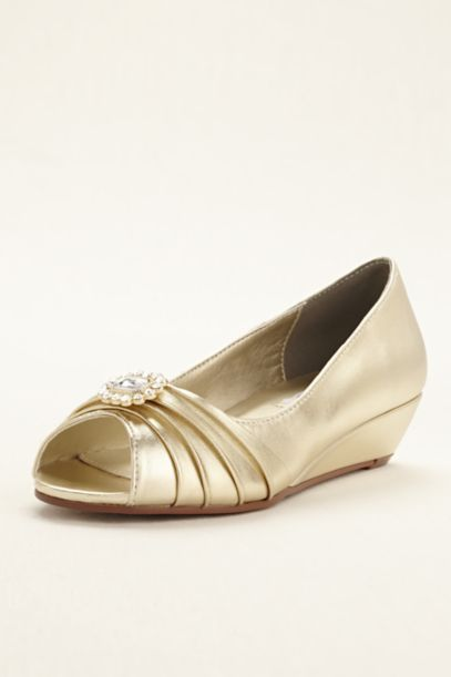 Gold Shoes: Heels & Flats | David's Bridal